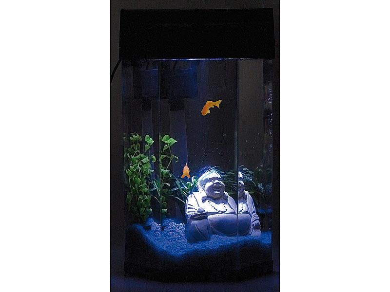 säulen aquarium rund