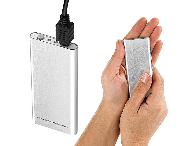 7a1a39e35415e2 infactory Aufladbarer Handwärmer mit USB-Ladefunktion (refurbished)