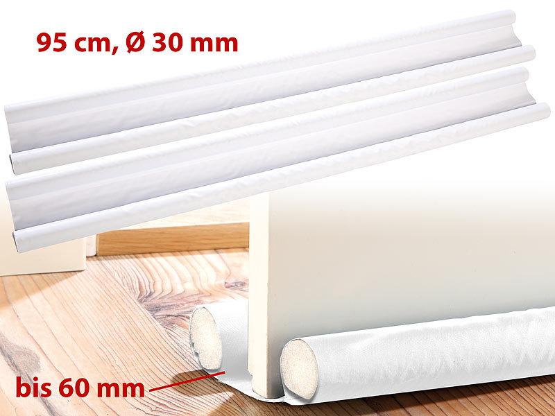 infactory zugluft stopper f r t ren bis 60 mm dicke wei. Black Bedroom Furniture Sets. Home Design Ideas