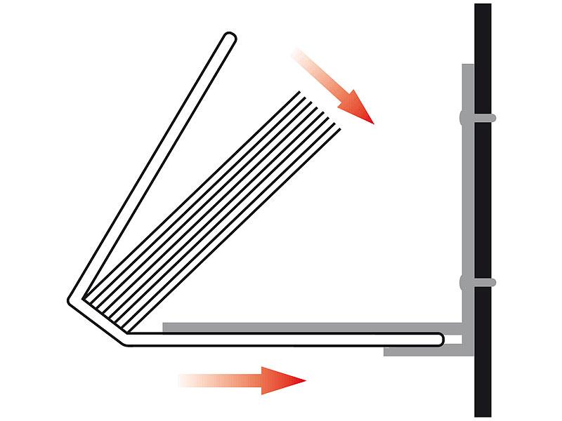 Bücherregale Metall infactory unsichtbares bücherregal aus metall 3er set