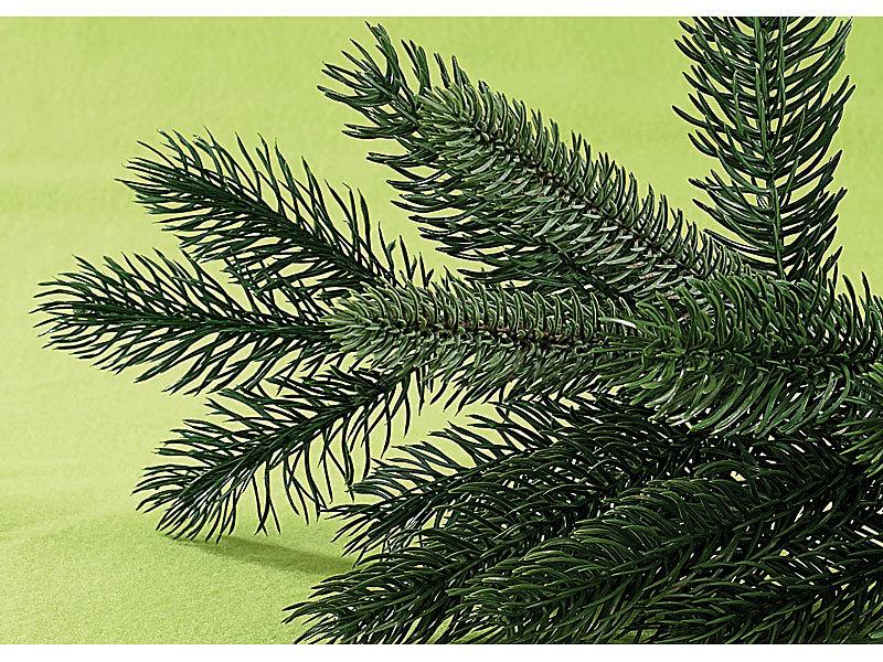 Weihnachtsbaum Kuenstlich Wie Echt.Künstlicher Christbaum 180cm Grün Integr Ständer