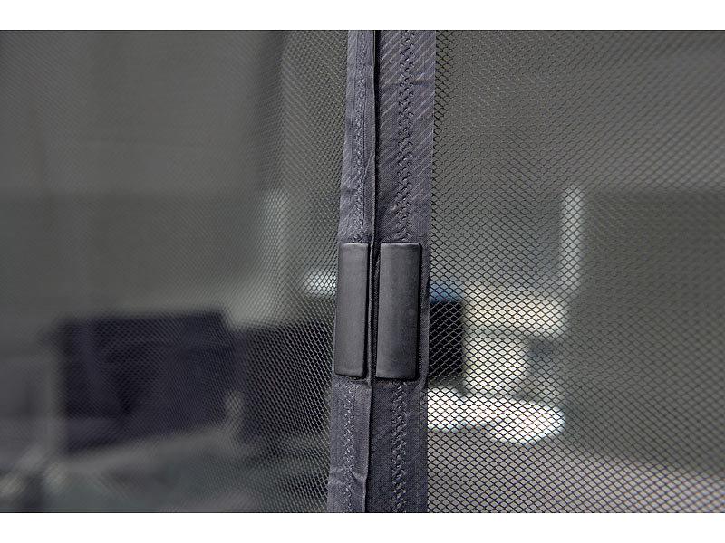infactory selbstschlie endes fliegennetz f r t ren mit 18. Black Bedroom Furniture Sets. Home Design Ideas