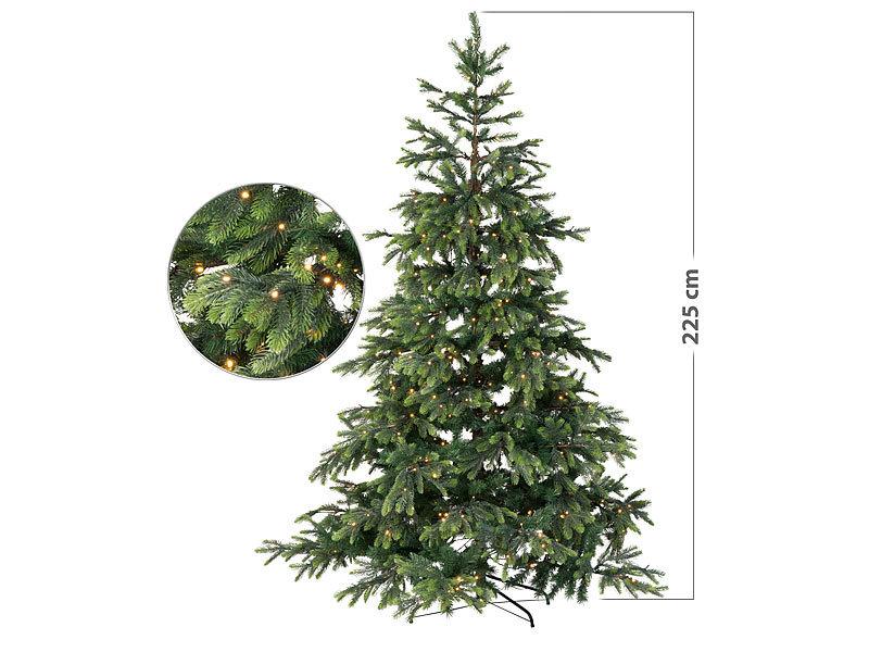 infactory k nstlicher weihnachtsbaum mit 500 leds und 70. Black Bedroom Furniture Sets. Home Design Ideas