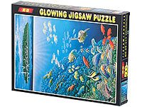 "infactory 500-teiliges Glow-in-the-dark-Puzzle ""Unterwasserwelt"""