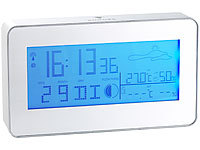 infactory Funk-Wetterstation, IN/OUT-Hygrometer, Funk-Außensensor (refurbished)