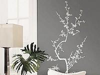 infactory wand tattoo japanischer kirschbaum 120 cm hoch. Black Bedroom Furniture Sets. Home Design Ideas
