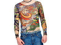 "infactory Tattoo-Shirt ""Panther & Dragon"""