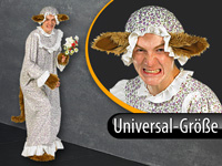Infactory Halloween Faschings Kostum Boser Wolf Universalgrosse
