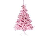 Rosa Weihnachtsbaum.Infactory Künstlicher Weihnachtsbaum Rosa 180 Cm Versandrückläufer